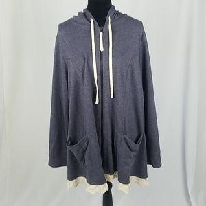 LOGO Lori Goldstein plus size 2X hoodie